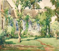 Watercolor Paintings from the Estate of Harry DeMaine (1880 – 1952)