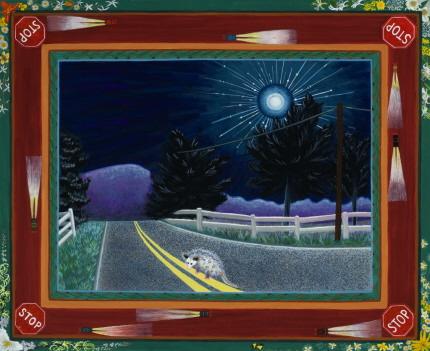 Moonlight (original) by Robin Hanes