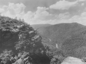 Linville Gorge, NC by Bayard Wootten