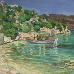The Art of Travel: Pastel Paintings from the Estate of Elsie Dinsmore Popkin