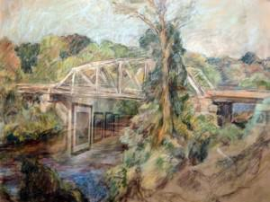 Green Street Bridge by Sarah Blakeslee