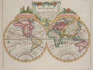 Mappe-Monde by Joseph de Laporte