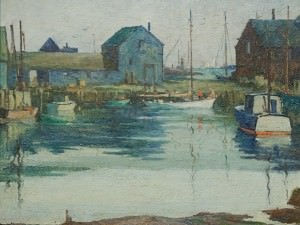 Rockport Inlet by Harry DeMaine