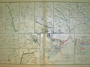 Campaign Maps of the 20th Corps by Julius Bein & Co.