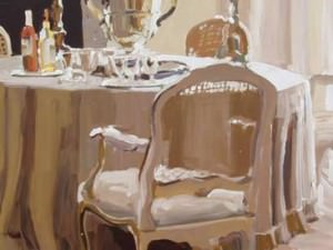 Dining Room by Laura Lacambra Shubert