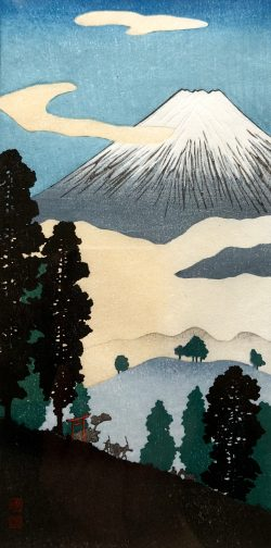 Mt. Fuji by Takahashi Shotei (1871-1945)