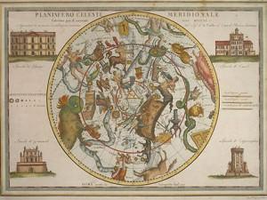 Planisfero Celeste Meridionale by Giovanni Maria Cassini