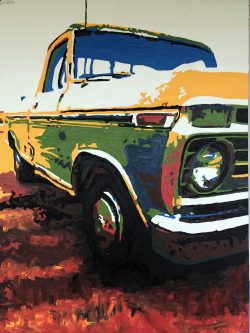"""Truck Nostalgia Cleveland Breakfast Surprise,  """"A View from the Bardo, #2"""" by Adam Sensel"""