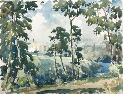 Bronx River by Harry De Maine (1880-1952)