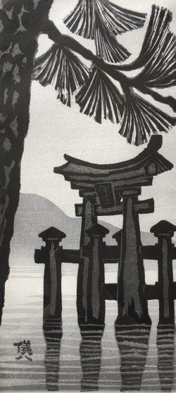 Tori Gate by Gihachiro Okuyama (1907-1981)
