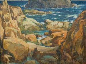 Rocks and Water by Harry DeMaine