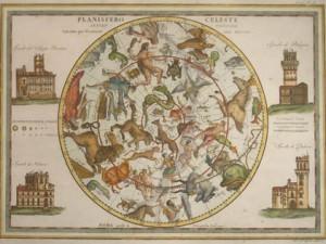 Planisfero Celeste Settentrionale by Giovanni Maria Cassini