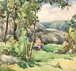 Spirit of Summer by Harry De Maine (1880-1952)