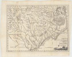 North Carolina 1779 Map  by Universal Magazine