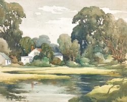 By the Tidal Stream by Harry De Maine (1880-1952)