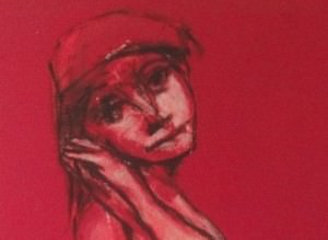 Nude in Reds by Robert Broderson
