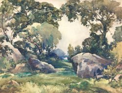 Secluded Clearing by Harry De Maine (1880-1952)