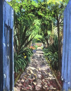 Hacienda Cusin, Ecuador by Elsie Dinsmore Popkin (1937-2005)