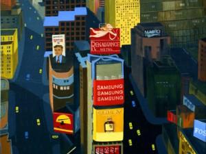 Timesless Square by Keiko Genka