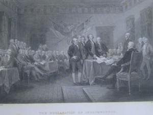The Declaration of Independence by W. Greatbach