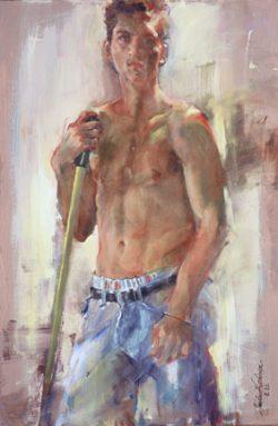 Young Man by Linda Hutchinson