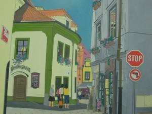 Bohemian Stop by Keiko Genka