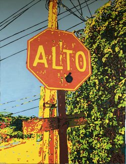 """Alto Large, """"A View from the Bardo, #15"""" by Adam Sensel"""