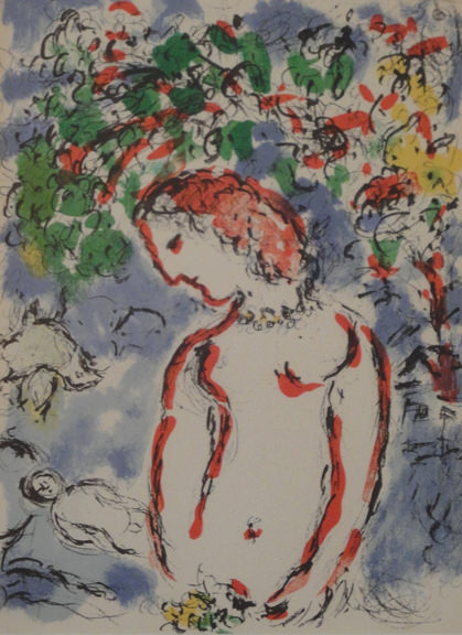 Prints collection artwork biography and more at gallery c for Biographie de marc chagall