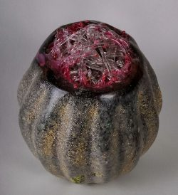 Jeweled Pomegranate  by Sally Resnik Rockriver