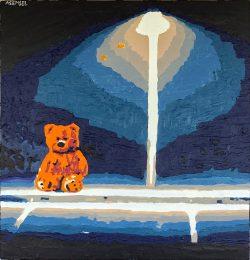 Lonely bear lapmpost #2 by Adam Sensel