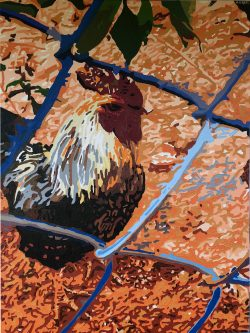Oaxaca Rooster: View from the Bardo #17    by Adam Sensel
