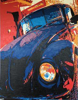 "Oaxaca Bug, ""A View from the Bardo, #16"" by Adam Sensel"