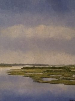 Emerald Marsh by Addison (Painter)