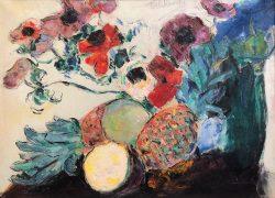 Anenomes à l'Ananas by Wladimir de (Wlodzimierz)  Terlikowski