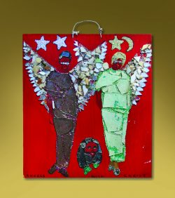 Angels with Christ by Baltimore Glassman