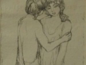 Daphnis and Chloe by Pierre Bonnard (1867-1947)