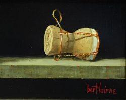 Champagne Cork by Bert Beirne