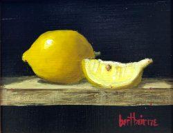 Lemon and Slice by Bert Beirne