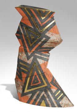 Opposition Origami Pot by Bireline, Jen Wilson (1912-2005)