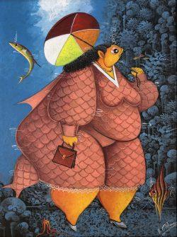 Femme de Poisson by Andre Blaise