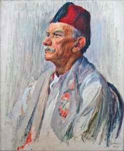 Man With Fez by Sarah Blakeslee