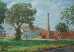 Old Factories, Greenville by Sarah Blakeslee (1912-2005)