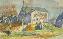 White Eagle Farm: Doyelstown, PA by Sarah Blakeslee (1912-2005)