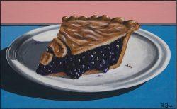 Blueberry Pie by Robert Box