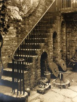 Charleston Staircase by Bayard Wootten