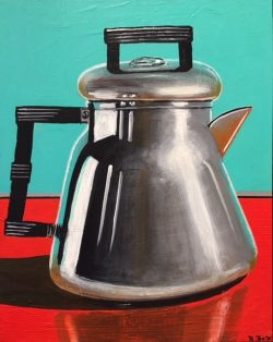 Coffee Pot I by Robert Box