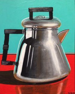 Coffee Pot I by Robert Box