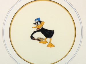 Daffy Duck Framed by Warner Brothers Studios