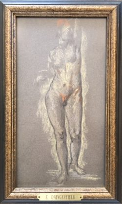 Figure Study by Elliott Daingerfield