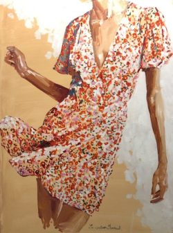 Dancing in a Flowered Dress by Laura Lacambra Shubert